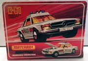 Mercedes 350 SLC (Police Rear Box).
