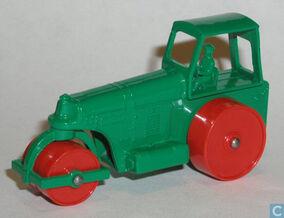 1962 1d ROAD ROLLER