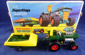 Mod Tractor and Trailer (K-3 Green)