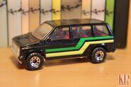 Dodge Caravan 1984 Matchbox 01