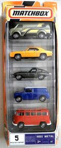 Classic Cars (2008 5 Pack)