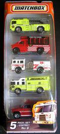 2010 5-packs No.6 - Fire