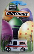 201EDITION 5 MATCHBOX EASTER MAIL DELIVERY SERVICE TRUCK