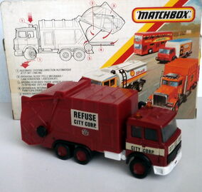 Refuse Truck IVECO (K-133)