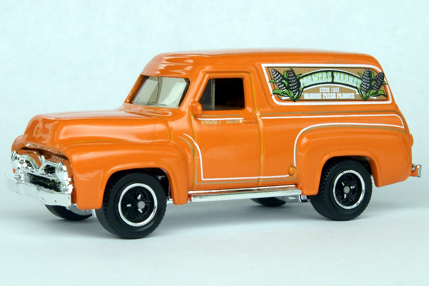 Ford F 100 Panel Delivery 1955 Matchbox Cars Wiki Fandom F100 Side View 8676df
