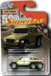 Mercedes-Benz G63 AMG 6x6 (Matchbox 50th Anniversary Gold series 2019)
