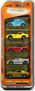 Cars, Cars, Cars (1999-5Pack)