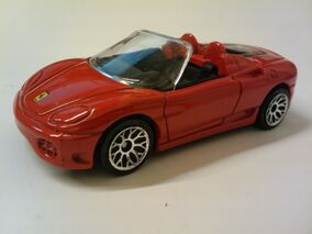 50th Ferrari 360 Spider