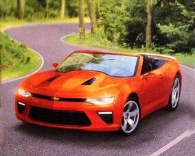 Chevy Camaro (2017 image)