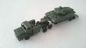 10-Wheel Transporter with Centurion Tank