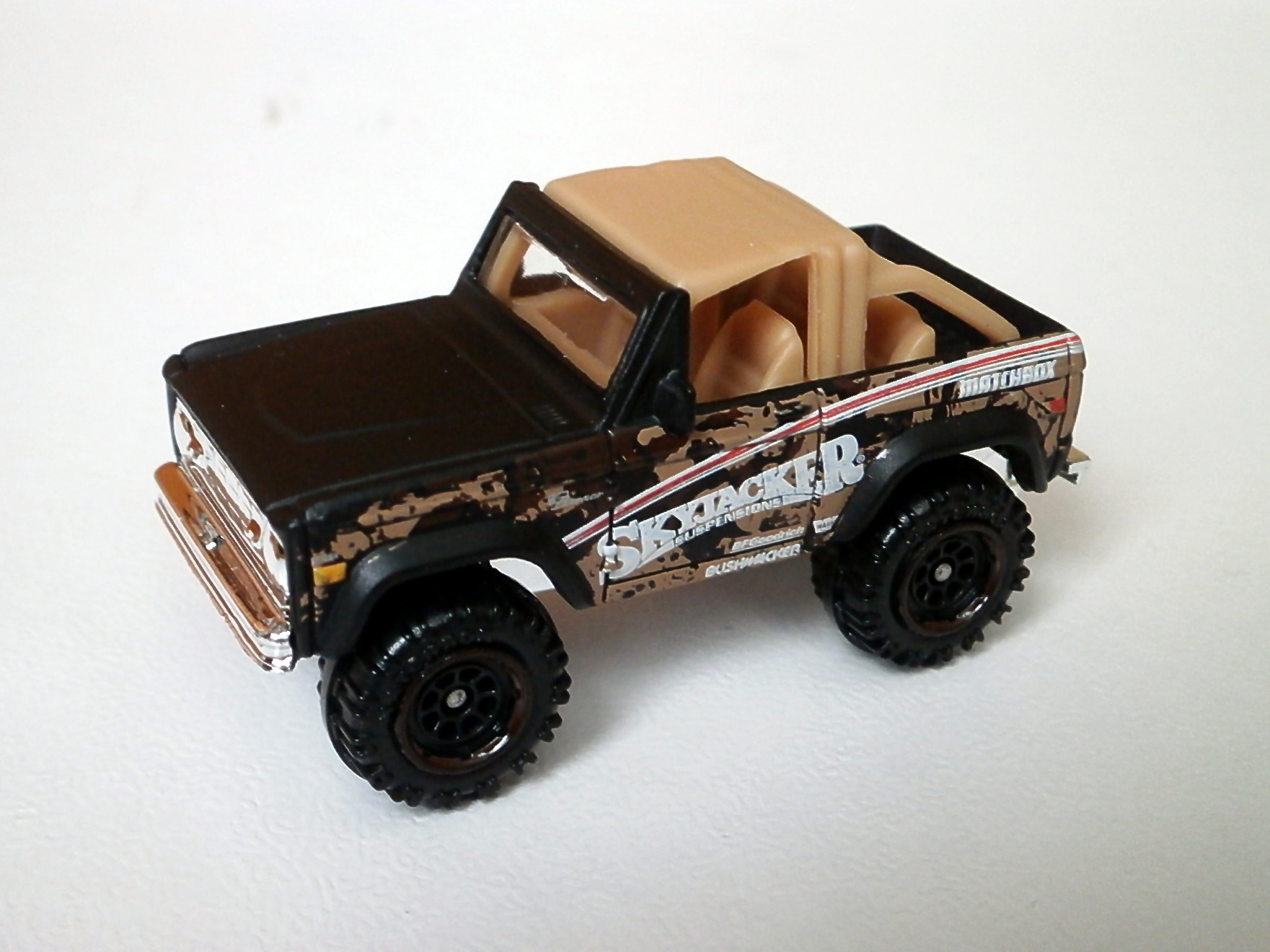 Image Ford Bronco 4x4 Skyjacker 2018 Matchbox Cars Wiki 1970 Full Size