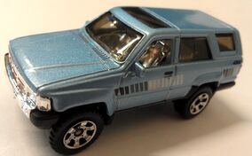 Outdoor Sportsman Toyota 4Runner blue