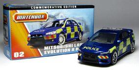 Mitsubishi Lancer Evolution X Police (2013 th Anniversary)