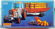 Massey Ferguson Tractor & Trailer (Rear Side Box)