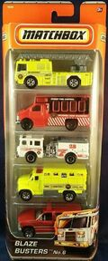 Blaze Busters (2010 5 Pack alternative Model)