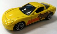 ChevroletCorvetteC6ScoobyDooyellow