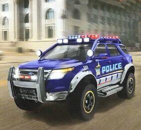 Ford Explorer Interceptor Police (Casting)