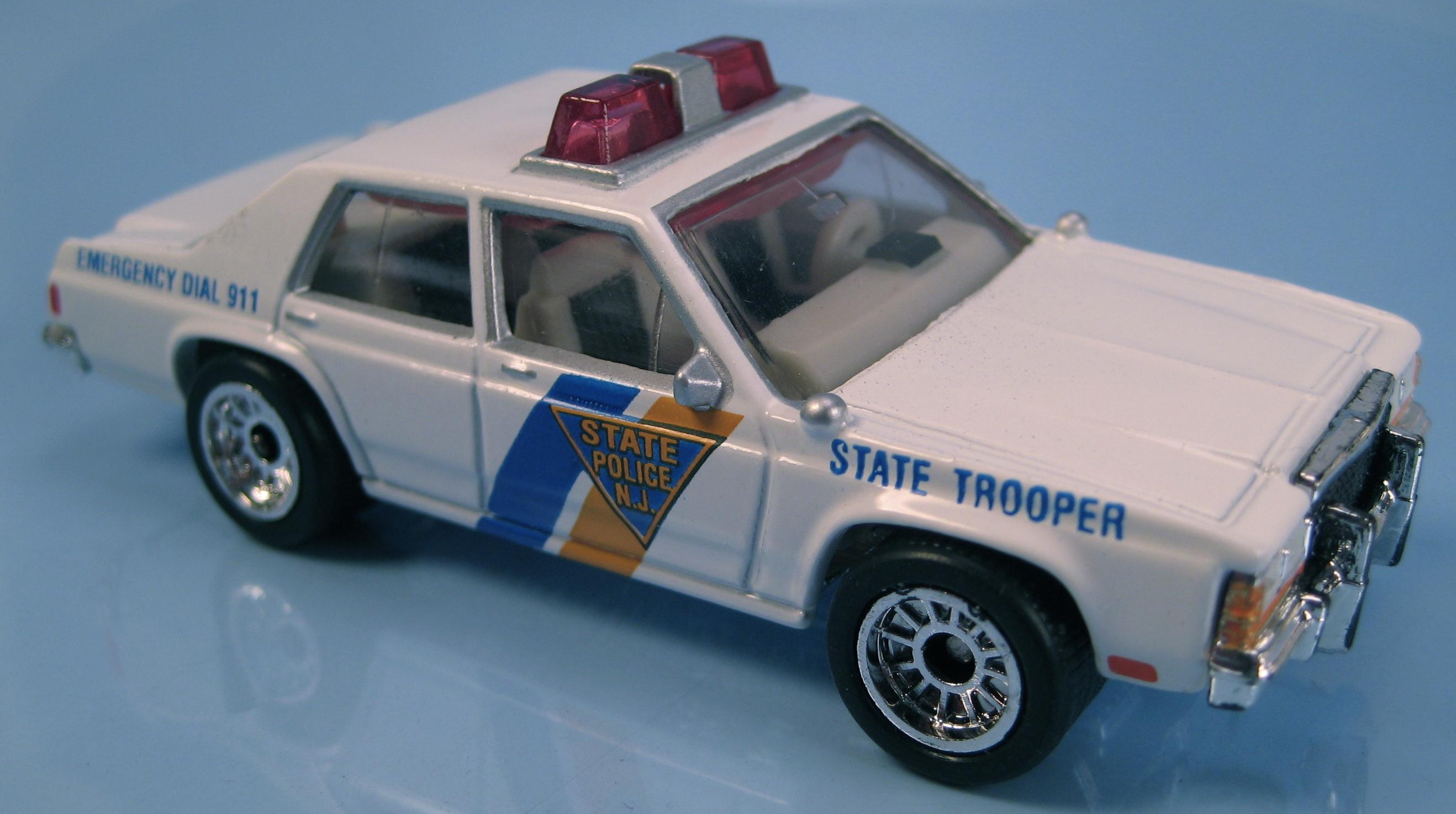 Ford LTD Police | Matchbox Cars Wiki | FANDOM powered by Wikia