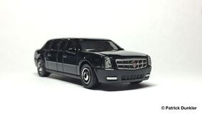 MB Cadillac One The Beast Obama front 1