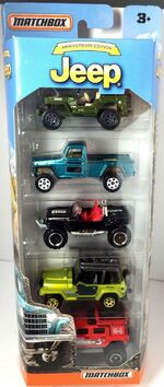 Jeep 2016 (5 pack)