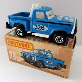 Ford Flareside Pickup (1982 Blue)