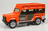 Land Rover Defender 110 1997 orange rainforest