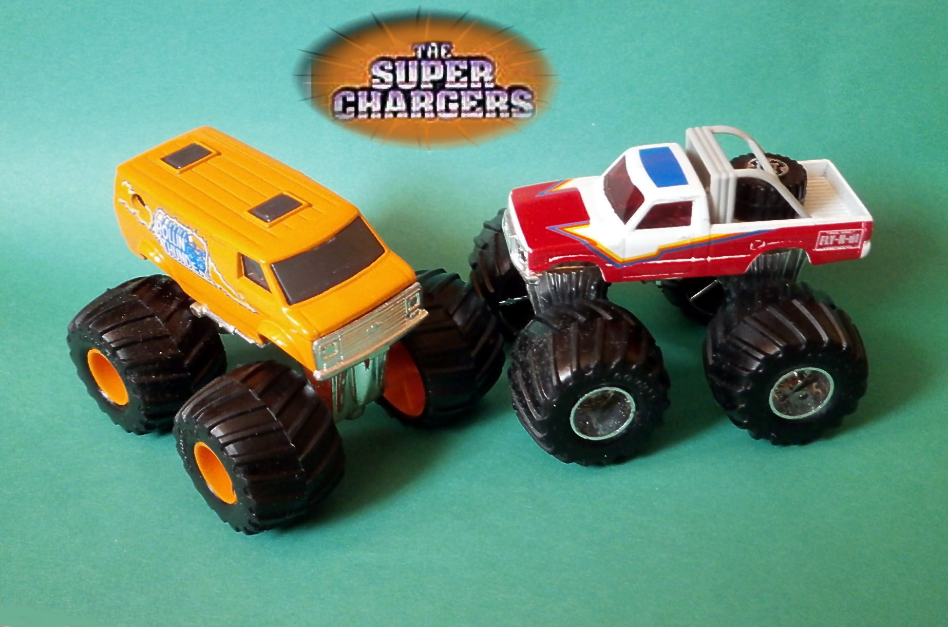 Super Chargers (Super Trucks) Series