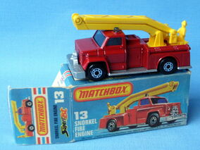 Snorkel Fire Engine (MB13 in Box)