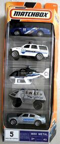 Police (2008 5 Pack)