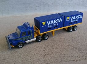 Scania Container Truck (CY-18, Varta Batteries)