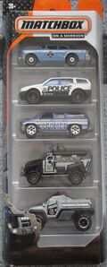 Matchbox 2014 5 pack Crime Squad