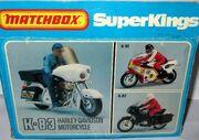 Harley Davidson Motorcycle (K-83 Rear Box