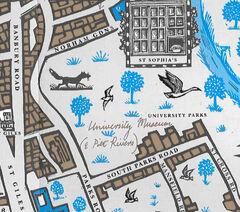 Университетский парк Колледж святой Софии карта