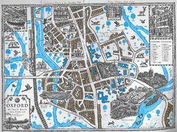 Карта Оксфорд Лиры