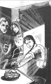 Уилл окно в кабинете сэра Чарльза иллюстрация Польша 1998
