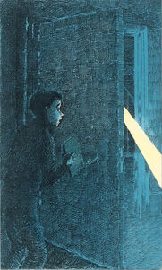 Уилл Парри зелёный несессер иллюстрация