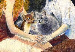 Кирджава и Пантелеймон фан арт фрагмент