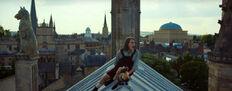 Лира Пан крыша панорама Оксфорда телесериал