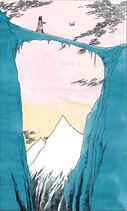 Ледяной мостик иллюстрация Бейли