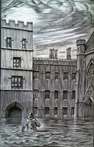 Башня паломников Ханна Релф иллюстрация
