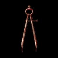 Символ алетиометра игра 20 Циркуль крупный