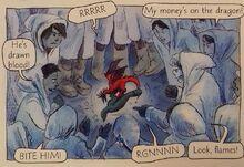 Драконы деймоны 2 комикс