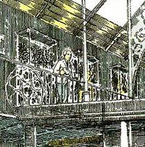 Чарльз Латром музей фрагмент иллюстрации Бейли