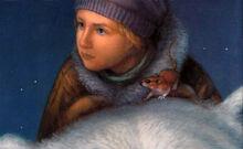 Лира Пантелеймон мышь фрагмент обложки Knopf 1996