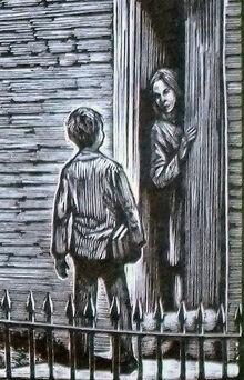 Ханна Малкольм дом фрагмент иллюстрации