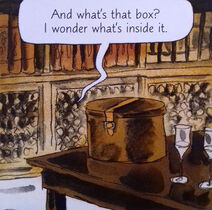 Вакуумный ящик комикс