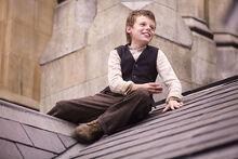 Роджер Парслоу на крыше