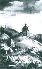 Уилл покидает отца мантия иллюстрация Польша 1998