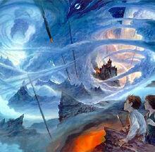 Выход Уилла и Лиры в Небесную республику