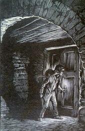 Подвал Аста Малкольм иллюстрация